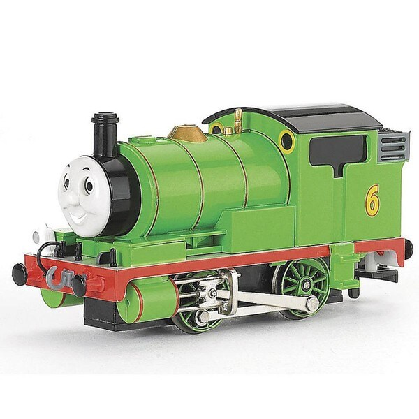 Bachmann HO Scale Thomas and Friends Percy the Small Engine with Moving Eyes