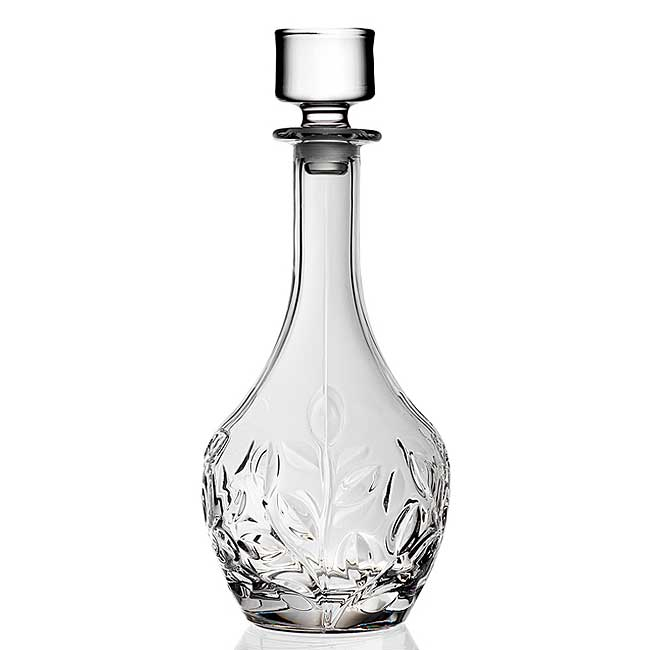 RCR Crystal Laurus Collection Decanter