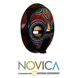 Sese Wood 'My Beautiful Woman' African Mask (Ghana)