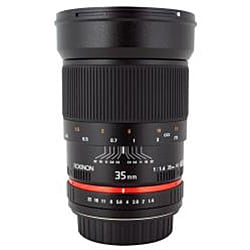 Rokinon 35mm f/1.4 Aspherical Lens for Sony Cameras