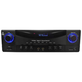 PylePro 5.1 Channel 350-watt Amplifier Receiver
