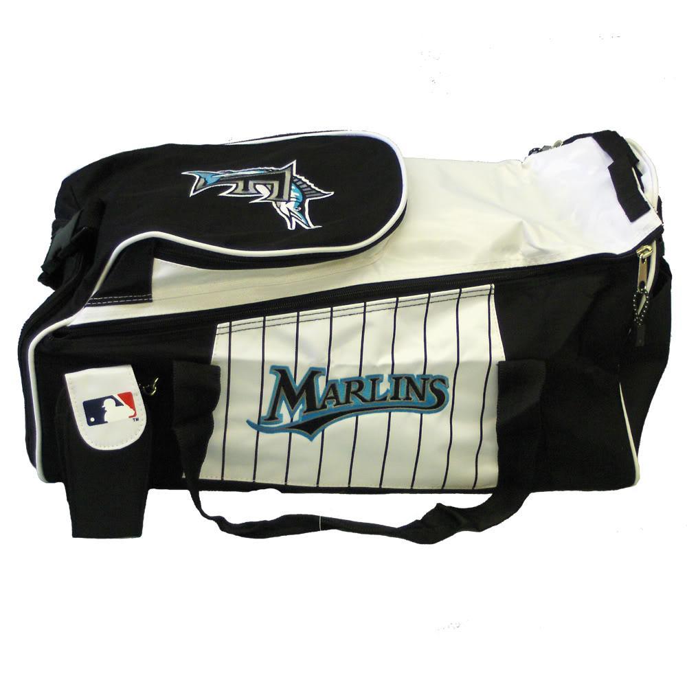 Florida Marlins MLB 20-inch Duffel Bag