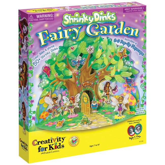 Shrinky Dinks Fairy Garden Activity Kit