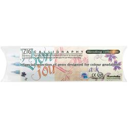 Zig Memory System Calligraphy Blending Markers (Pack of 3)