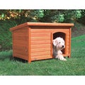 Trixie Natura Large Weatherproof Solid Pine Flat-roof Dog House
