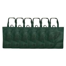 Philadelphia Eagles Reusable Bags (Pack of 6)