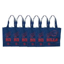 Buffalo Bills Reusable Bags (Pack of 6)