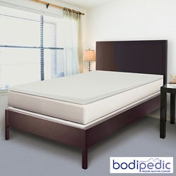 Bodipedic 2-inch Twin XL-size Memory Foam Mattress Topper
