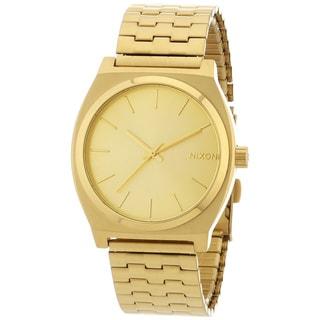 Nixon Men's A045-511 Time Teller Goldtone Watch