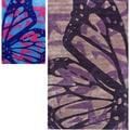 nuLOOM Handmade Deco Butterfly Rug (5' x 8')