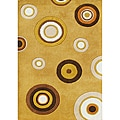 Alliyah Handmade New Zeeland Blend Hand-tufted Corn Wool Rug (5' x 8')
