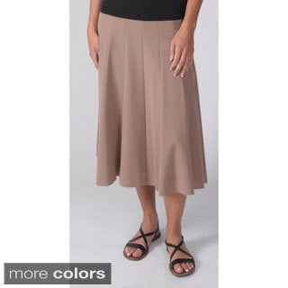 Adi Design Women's Flowing Panel Long Skirt