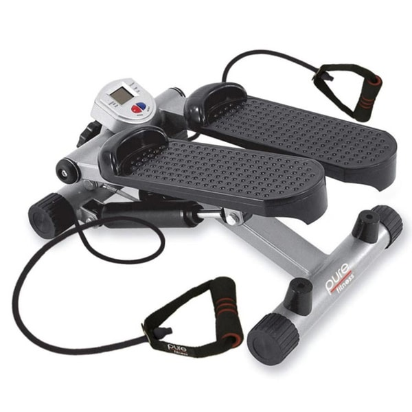 Pure Fitness Mini Stepper with Stretch Cords