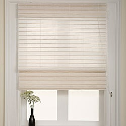 Serenity Rice Roman Shade (48 in. x 70 in.)