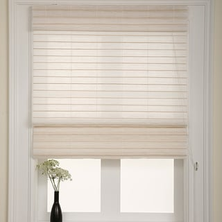 Serenity Rice Roman Shade (36 in. x 72 in.)