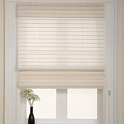 Serenity Rice Roman Shade (30 in. x 72 in.)