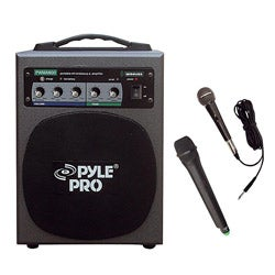 Pyle RBWMA600 100-watt Wireless Battery Powered PA System (Refurbished)