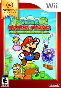 Wii - Nintendo Selects: Super Paper Mario - By Nintendo