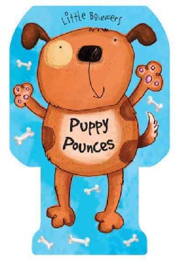 Puppy Pounces (Board book)