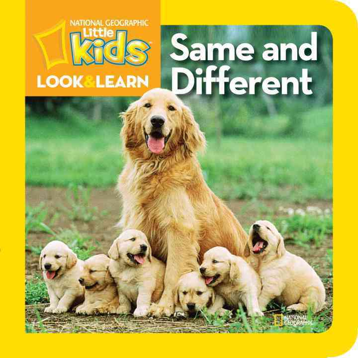Same and Different (Board book)