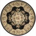Nourison Chateau Black Rug (5'3 Round)
