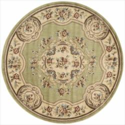 Nourison Chateau Green Rug (5'3 Round)