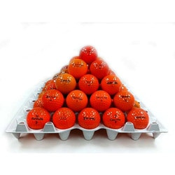 Orange Mixed Model Golf Balls (Pack of 36) (Recycled)