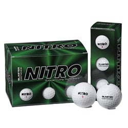 Nitro Blaster Solid-core Surlyn/Rubber Golf Balls (Pack of 72)