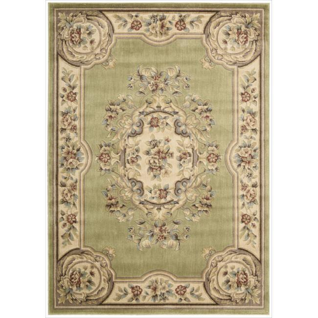 Nourison Chateau Green Rug (5'3 x 7'5)