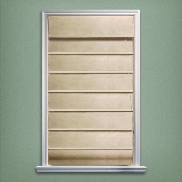 Chicology Sahara Sandstone Roman Shade (36 in. x 64 in.)