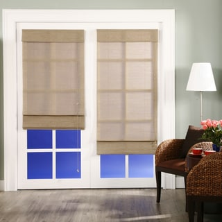 Nevada Timberwolf Roman Shade (48 in. x 72 in.)