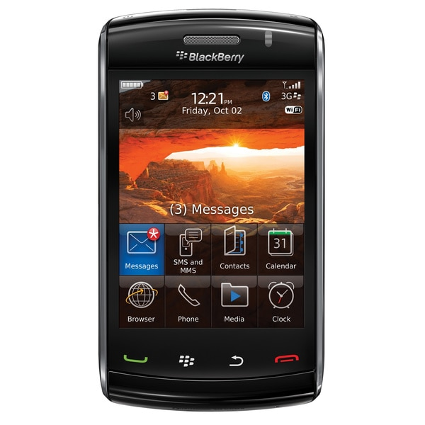 Blackberry Storm2 9550 Unlocked GSM Touchscreen Cell Phone - Black