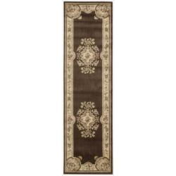Nourison Chateau Brown Rug (2'3 x 8')