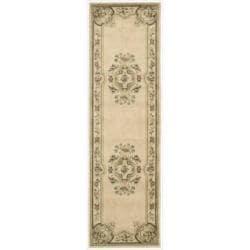 Nourison Chateau Ivory Rug (2'3 x 8')