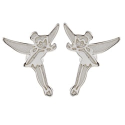 Disney's Tinkerbell Sterling Silver Stud Earrings
