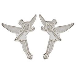 Disney's Tinkerbell Sterling Silver Stud Earrings