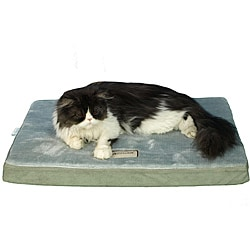 Armarkat Sage Green/ Grey 31x23-inch Memory Foam Orthopedic Pet Bed Pad
