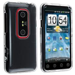 Clear Crystal Case Protector for HTC EVO 3D