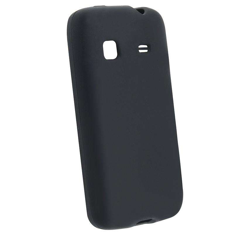 Black Silicone Case for Samsung Galaxy Prevail M820