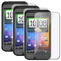 Screen Protector for HTC Incredible S Droid (Pack of 3)