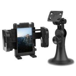 Universal Black PVC Vacuum-base Windshield GPS/Cell Phone Holder