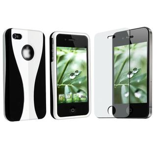 Case/ Anti-glare Screen Protector for Apple iPhone 4