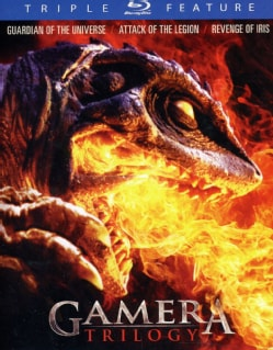 Gamera: Triple Feature Collector's Edition (Blu-ray Disc)