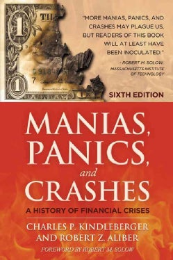 Manias, Panics and Crashes: A History of Financial Crises (Paperback)