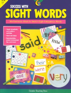 Success With Sight Words: Multisensory Ways to Teach High-Frequency Words (Paperback)
