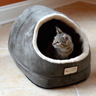 Armarkat Sage Green Cat Bed (As Is Item)