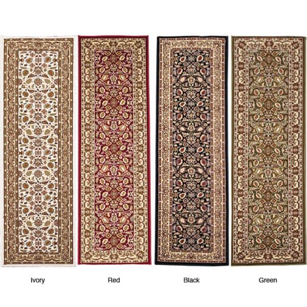 Anoosha Persian Garden Design Runner Rug (2'2 x 11')