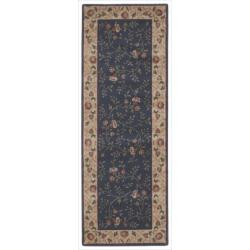 Nourison Summerfield Navy Rug (2'3 x 8')