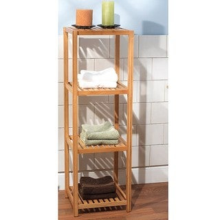 Bamboo 4-tier Shelf