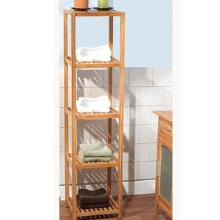 Simple Living Bamboo 5-tier Shelf